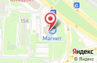 Схема проезда до компании Абрахас в Москве