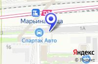 Схема проезда до компании ТЕХНИЧЕСКИЙ ЦЕНТР СПАРТАК-АВТО в Москве