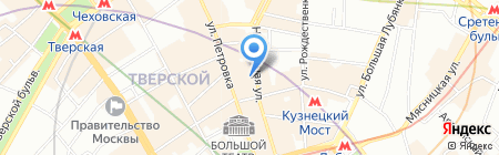 Articoli на карте Москвы