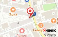Схема проезда до компании Кианит в Москве
