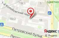 Схема проезда до компании Дорремстрой в Москве
