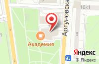 Схема проезда до компании Элиот в Москве