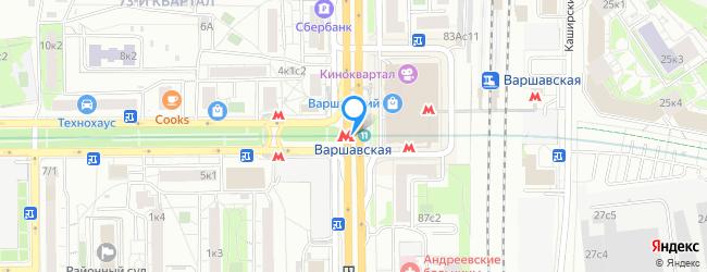 метро Варшавская