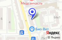 Схема проезда до компании ПТФ КРК в Москве