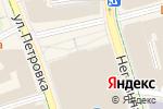 Схема проезда до компании Celine в Москве