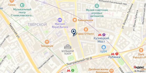 Банк Сервис Резерв на карте Москве