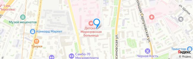 переулок Люсиновский 3-й