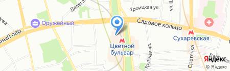 Закон и право на карте Москвы