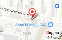 Схема проезда до компании Нордэкспорт в Москве