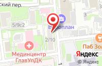 Схема проезда до компании Нумизматика в Москве