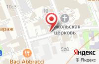 Схема проезда до компании Цитадель в Москве