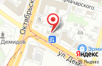 Схема проезда до компании Городское бюро недвижимости в Апрелевке