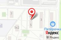 Схема проезда до компании Ск Комплект в Москве