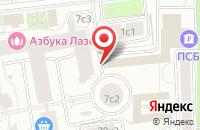 Схема проезда до компании Юниксстрой в Москве