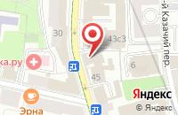 Схема проезда до компании Юнитек в Москве