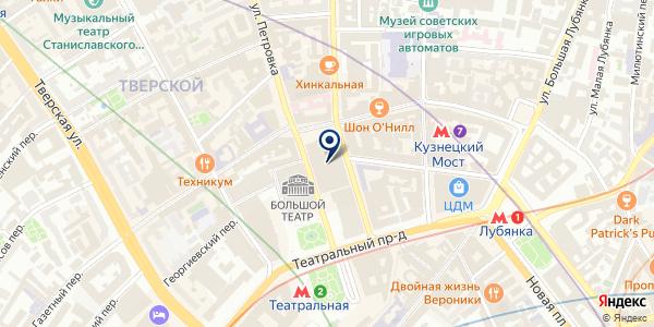 САЛОН КРАСОТЫ CHANEL MAKEUP STUDIO на карте Москве