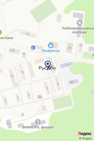 ЯКОТСКАЯ АМБУЛАТОРИЯ на карте Дмитрова