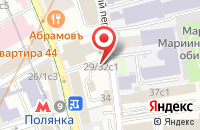 Схема проезда до компании Оникс в Москве