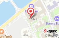 Схема проезда до компании Нифаргрупп в Москве