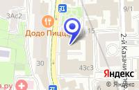 Схема проезда до компании ПРОЕКТНАЯ ФИРМА СОВПРОЕКТ в Москве