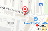 Схема проезда до компании Сервис торг в Москве