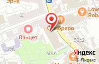 Схема проезда до компании Строймонтажэнерго в Москве