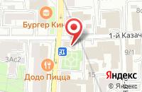 Схема проезда до компании Профи-Тв в Москве