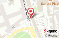 Схема проезда до компании Реком в Москве