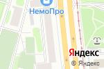Схема проезда до компании Очарование цвета в Москве