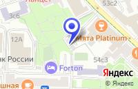 Схема проезда до компании ПРОЕКТНОЕ ПРЕДПРИЯТИЕ АГРОПРОЕКТ в Москве