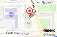Схема проезда до компании Ландтех в Москве