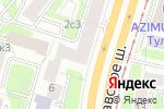 Схема проезда до компании Fire lounge в Москве