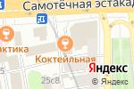 Схема проезда до компании На Цветном в Москве