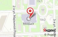 Схема проезда до компании Успех Плюс в Москве