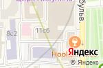 Схема проезда до компании КоМеГри в Москве