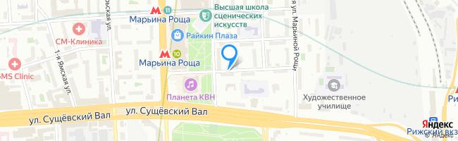 проезд Марьиной Рощи 1-й