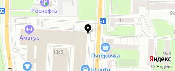 АКРОС на карте Москвы