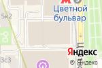 Схема проезда до компании G-SHOCK в Москве