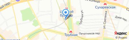 МНОГО ЦВЕТОВ на карте Москвы