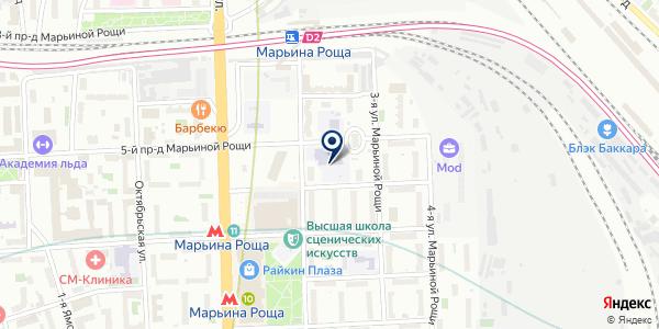 Банкомат, КБ Юниаструм банк на карте Москве