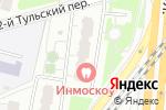 Схема проезда до компании Большая Тульская в Москве