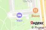 Схема проезда до компании Алёнка-2000 в Москве