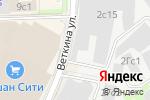 Схема проезда до компании Интерпромсервис-Гарант в Москве