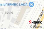 Схема проезда до компании Визави в Москве