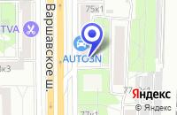 Схема проезда до компании САЛОН ДВЕРЕЙ ТОРГ ДИАЛ в Москве
