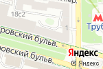 Схема проезда до компании ВетМосКлиника в Москве