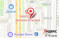 Схема проезда до компании Эвиданс в Москве