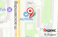 Схема проезда до компании Студия Плюс в Москве