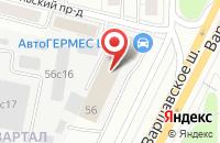 Схема проезда до компании Проектирование Строительство Производство в Москве