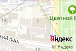 Схема проезда до компании Московский правовой центр недвижимости в Москве